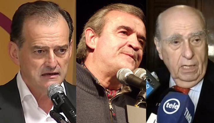 Guido Manini Ríos, Jorge Larrañaga y Julio María Sanguinetti, se pronunciaron sobre la fuga de Rocco Morabito.