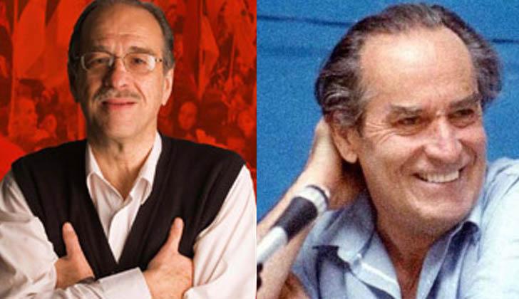 Hugo Cores y Wilson Ferreira Aldunate.