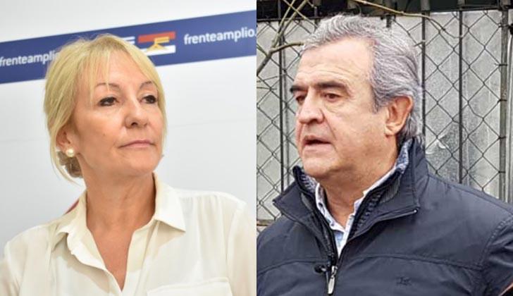 Carolina Cosse y Jorge Lararñaga debatirán el próximo 25 de junio.