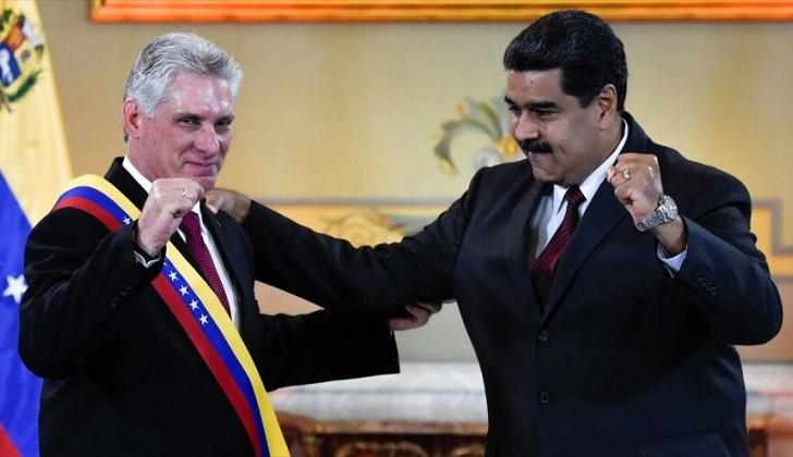 """Cuba reafirmó que su solidaridad con Venezuela """"no es negociable""""."""