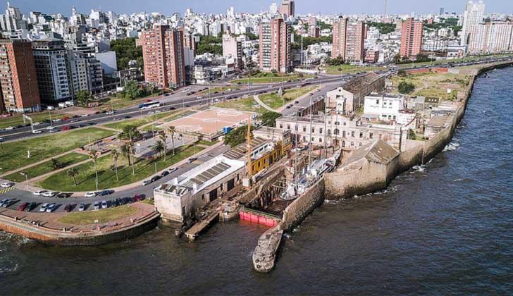 Dique Mauá. Foto: Uruguay visión marítima.