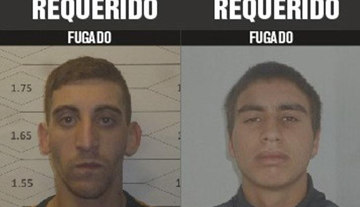 Los dos fugados de ex Cárcel Comcar.
