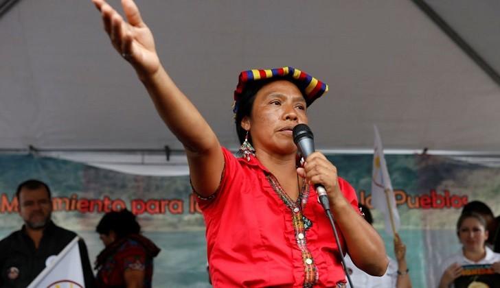Thelma Cabrera, candidata indígena que aspira a hacer historia en Guatemala.
