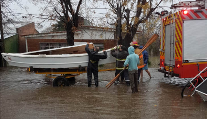 Inundaciones en Florida.