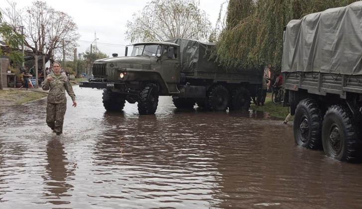 Fuertes lluvias dejan más de 5.000 damnificados en Uruguay