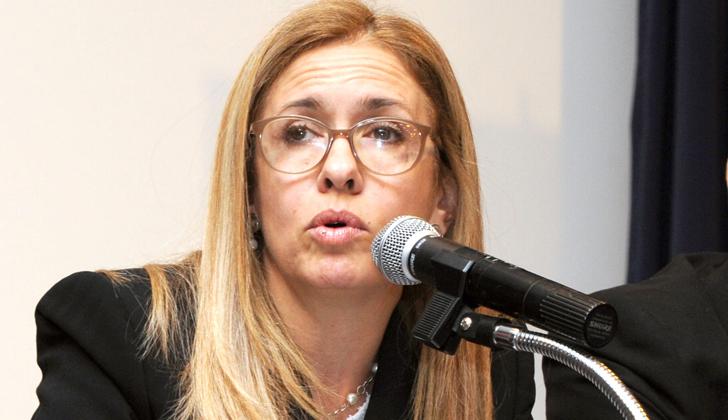 Presidenta de ANCAP, Marta Jara.