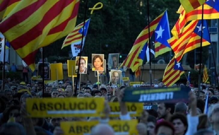 Terminó el juicio contra los independentistas catalanes en España