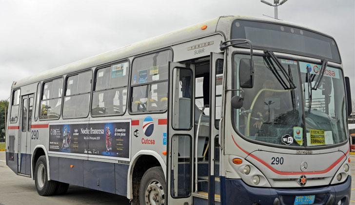 Presentan los resultados del proyecto piloto que se realizó en un vehículo colectivo de pasajeros.