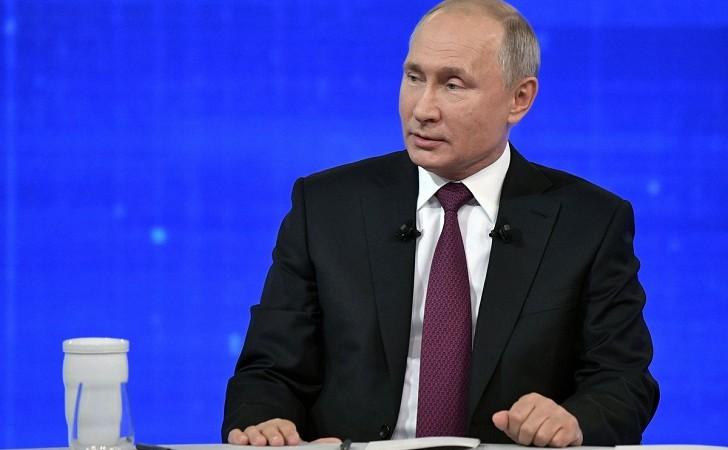 """Putin advierte que un ataque de Estados Unidos contra Irán sería  """"una catástrofe""""."""
