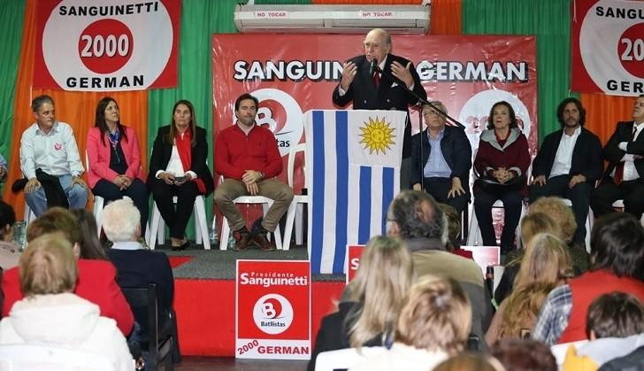 Sanguinetti: Hablar de derogar Ley de Caducidad es un argumento electoral sin valor jurídico. Foto: Maldonado Noticias