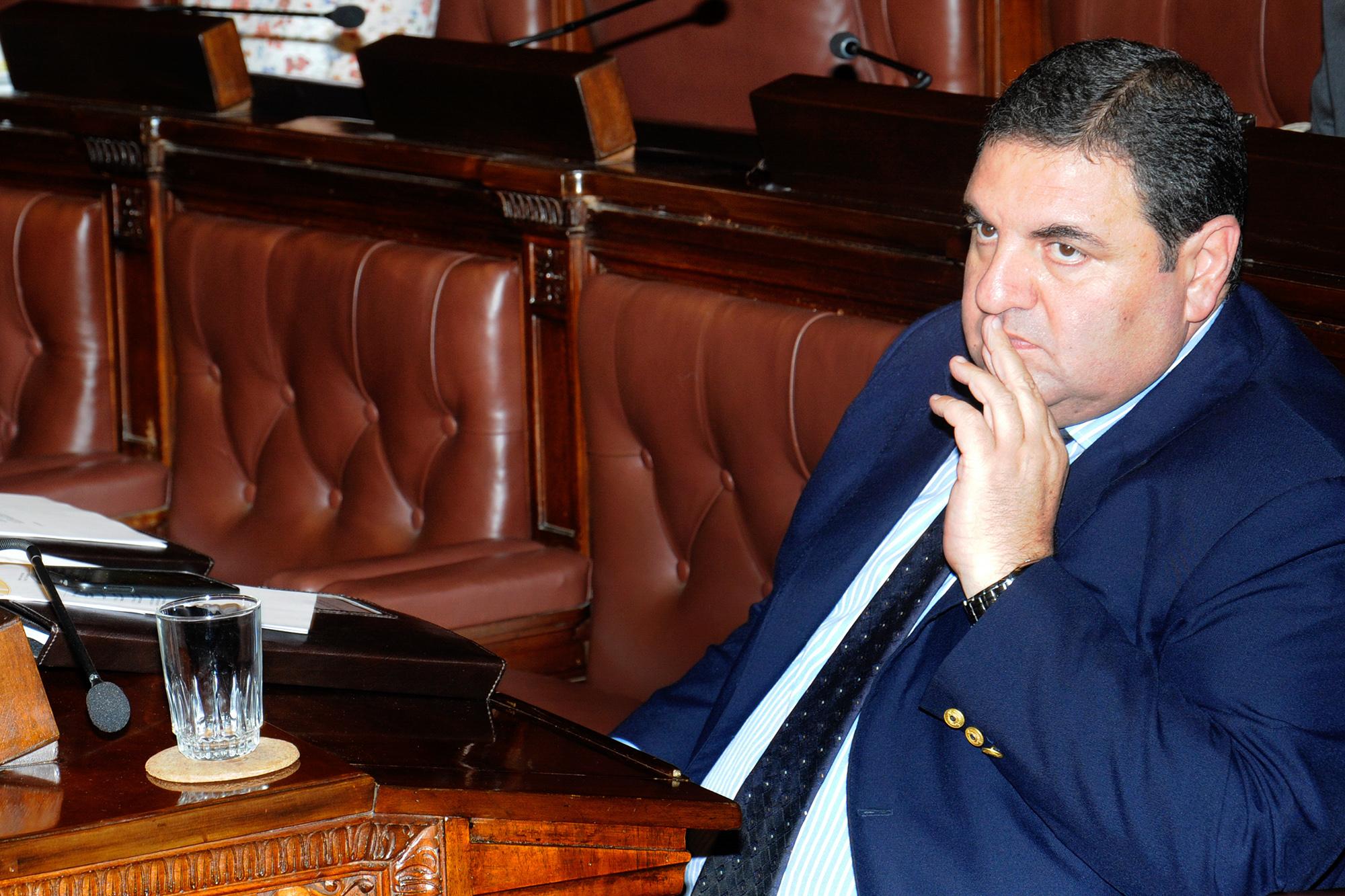 Antonio Zoulamian, ex diputado del Partido Nacional. Foto cortesía del servicio fotográfico del Parlamento del Uruguay