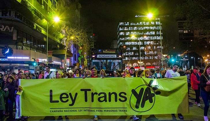 Resultado de imagen de ley trans uruguay