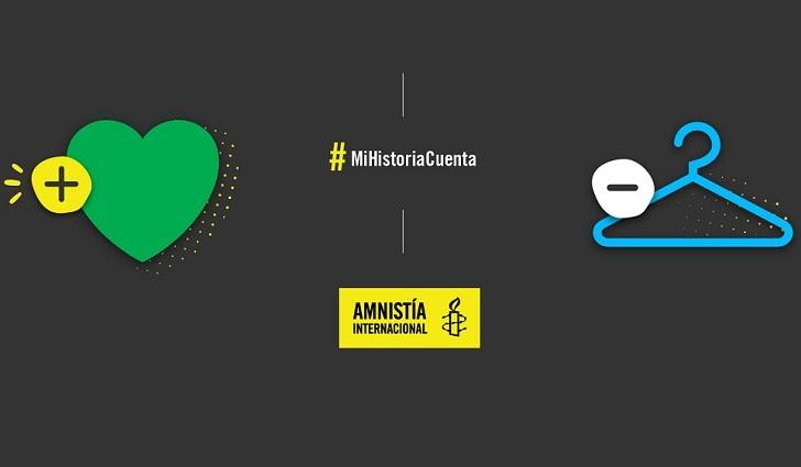 #MiHistoriaCuenta, la campaña de Amnistía Internacional a favor del aborto legal en Argentina.