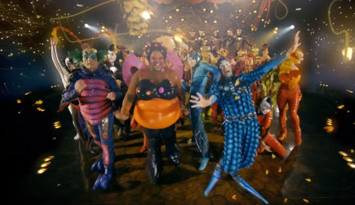 """""""Ovo"""" de Cirque Du Soleil en ANTEL Arena."""