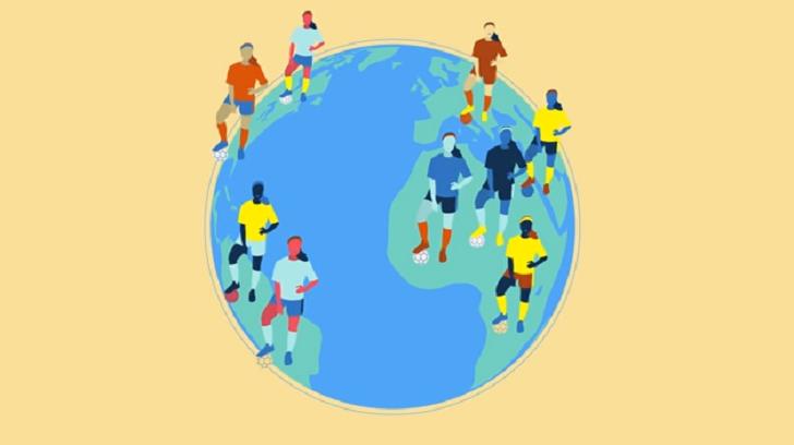 La FIFA estima que 13 millones de mujeres juegan al fútbol organizado en todo el mundo