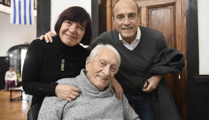 Martínez junto al ex diputado Guillermo Chifflet.
