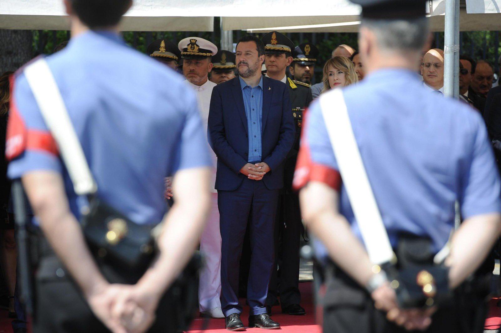 Foto: Twitter Matteo Salvini