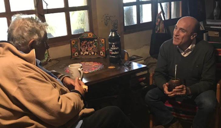 José Mujica recibió a Martínez.