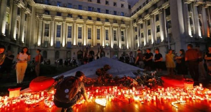Multitudinarias protestas en Rumania por la lenta respuesta de las autoridades ante el secuestro de una adolescente