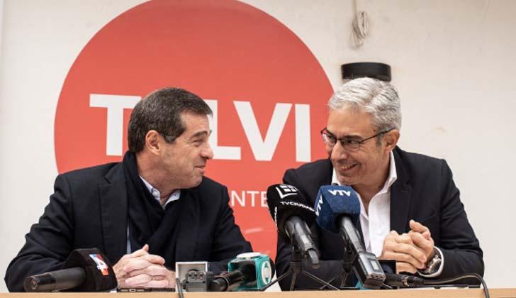 Ernesto Talvi-Robert Silva. Foto: Twitter.