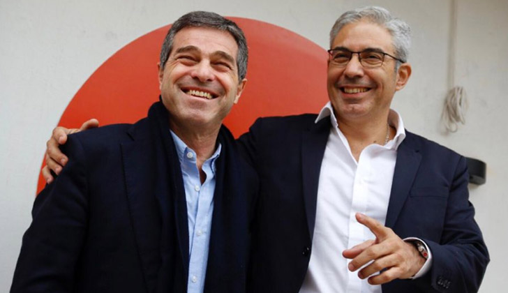 Ernesto Talvi y Robert Silva. Foto: Twitter.