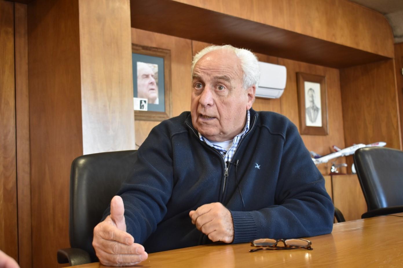 Victor Rossi, ministro del MTOP. Foto: Carlos Loría - LARED21