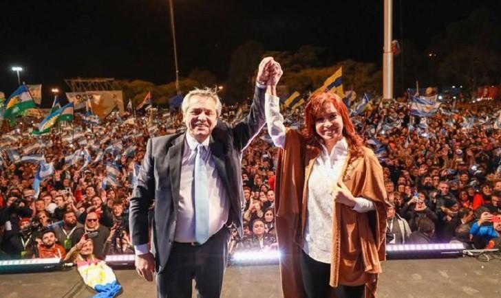 El Frente de Todos cerró su campaña ante una enorme multitud en Rosario