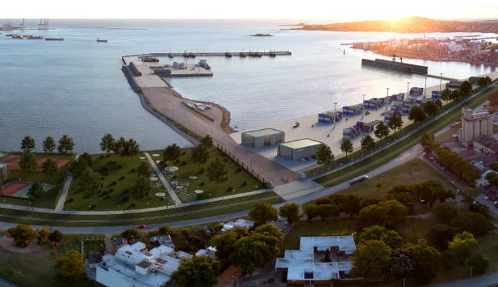 Uruguay contará con un dique flotante capaz de reparar buques pospanamax