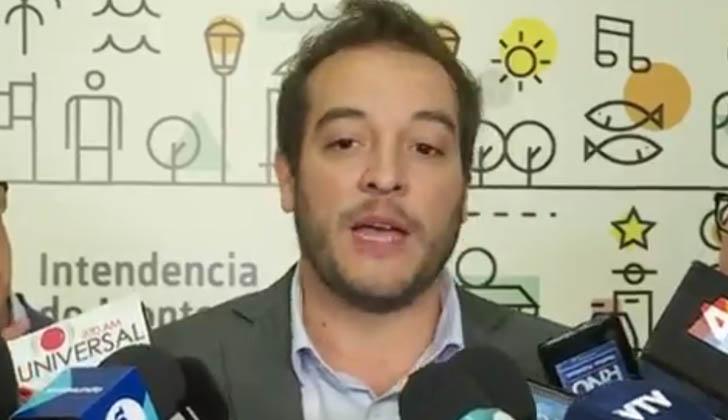 Intendente de Montevideo, Christian Di Candia.