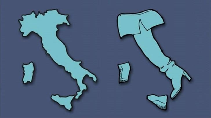 Los países de Europa vistos a través de la imaginación de un artista.