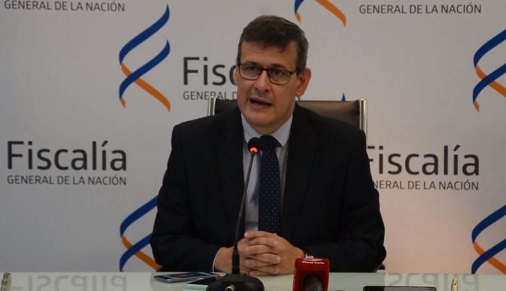 Fiscal general de la Nación, Jorge Díaz.