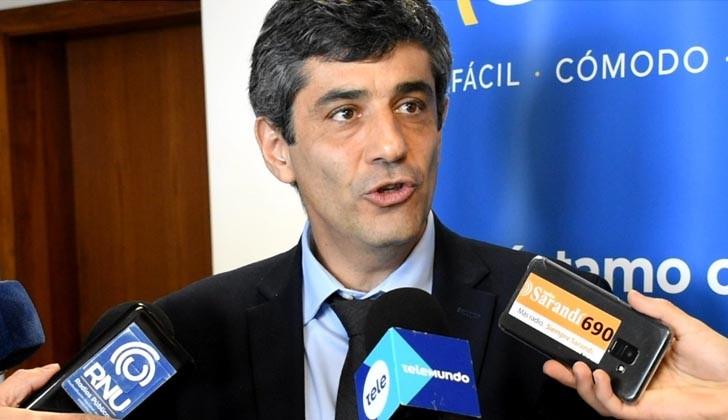 Jorge Polgar, presidente del BROU. Foto: LARED21.