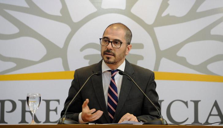 Prosecretario de Presidencia, Juan Andrés Roballo. Foto: Presidencia de la República.
