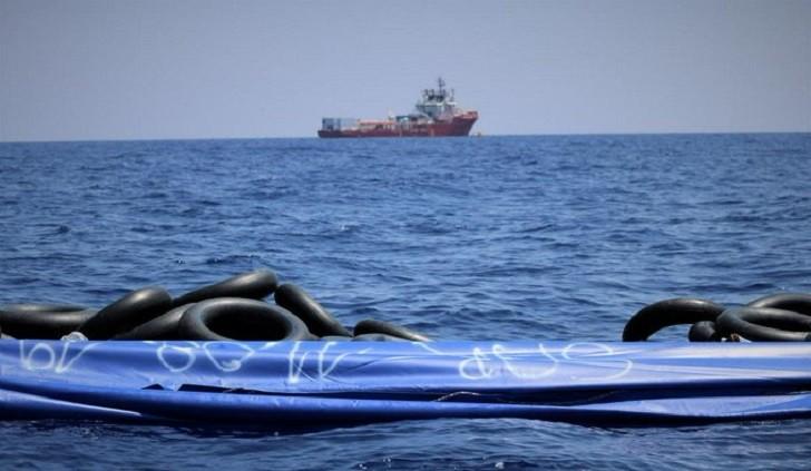 El barco Ocean Viking necesita desembarcar a sus 356 inmigrantes.