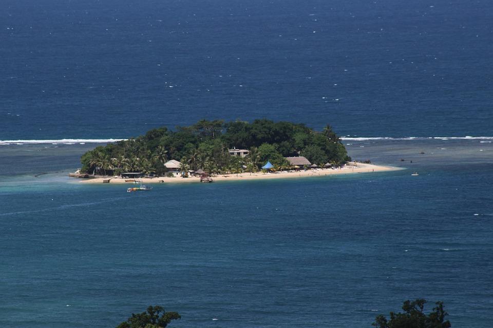 Una pequeña isleta en Vanuatu, una nación insular del océano Pacífico. Foto: Pixabay