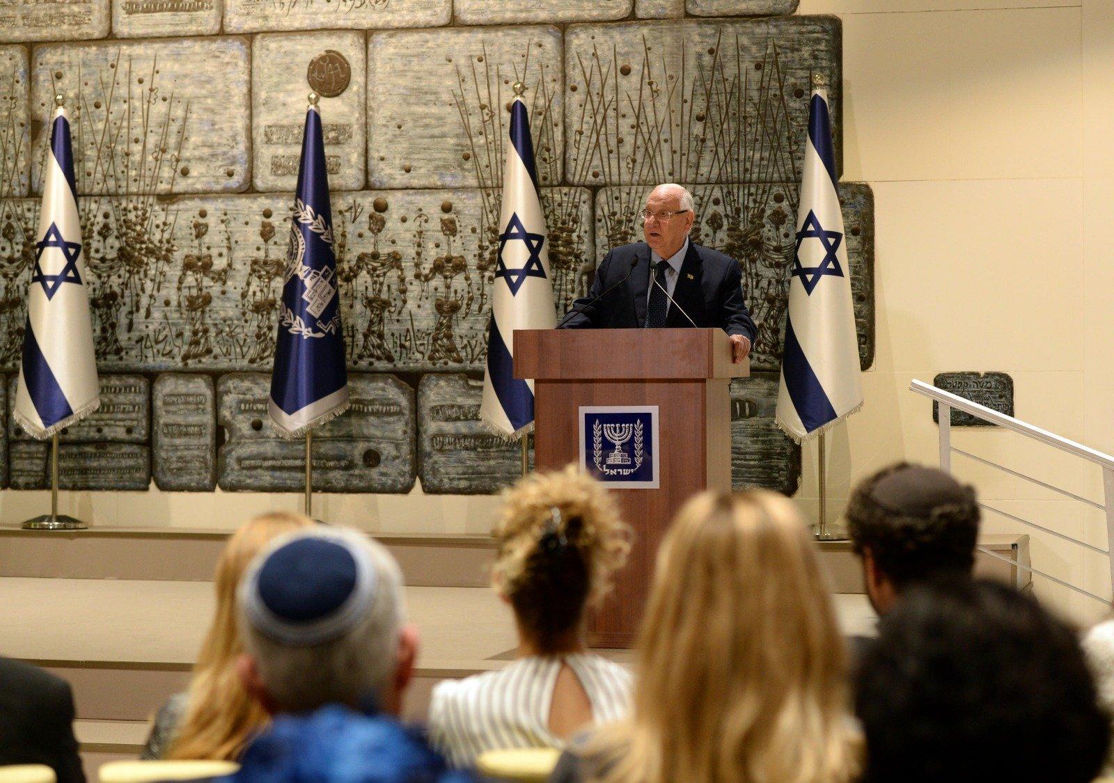 Reuven Rivlin, presidente de Israel. Foto: Twitter / Reuven Rivlin