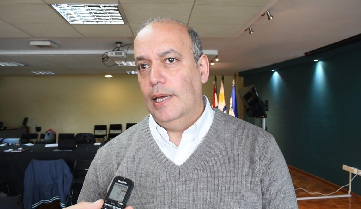 Alejandro Denes, coordinador del Instituto Nacional de Artes Visuales. Foto: Carlos Loría / LARED21
