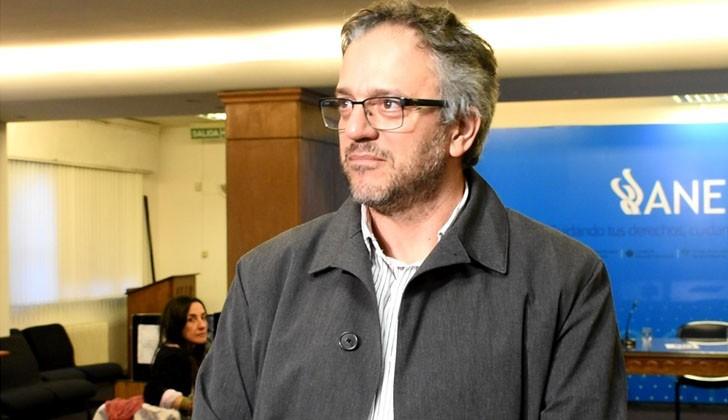 Rector de la Universidad de la República, Rodrigo Arim. Foto: Carlos Loria.