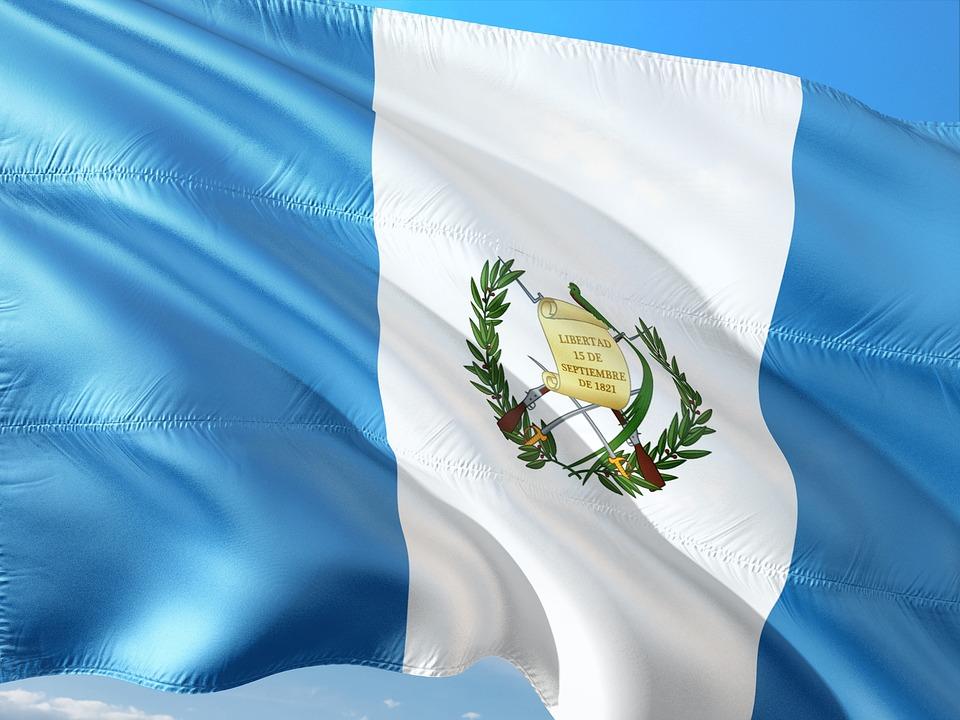 Bandera de Guatemala. Foto: Pixabay