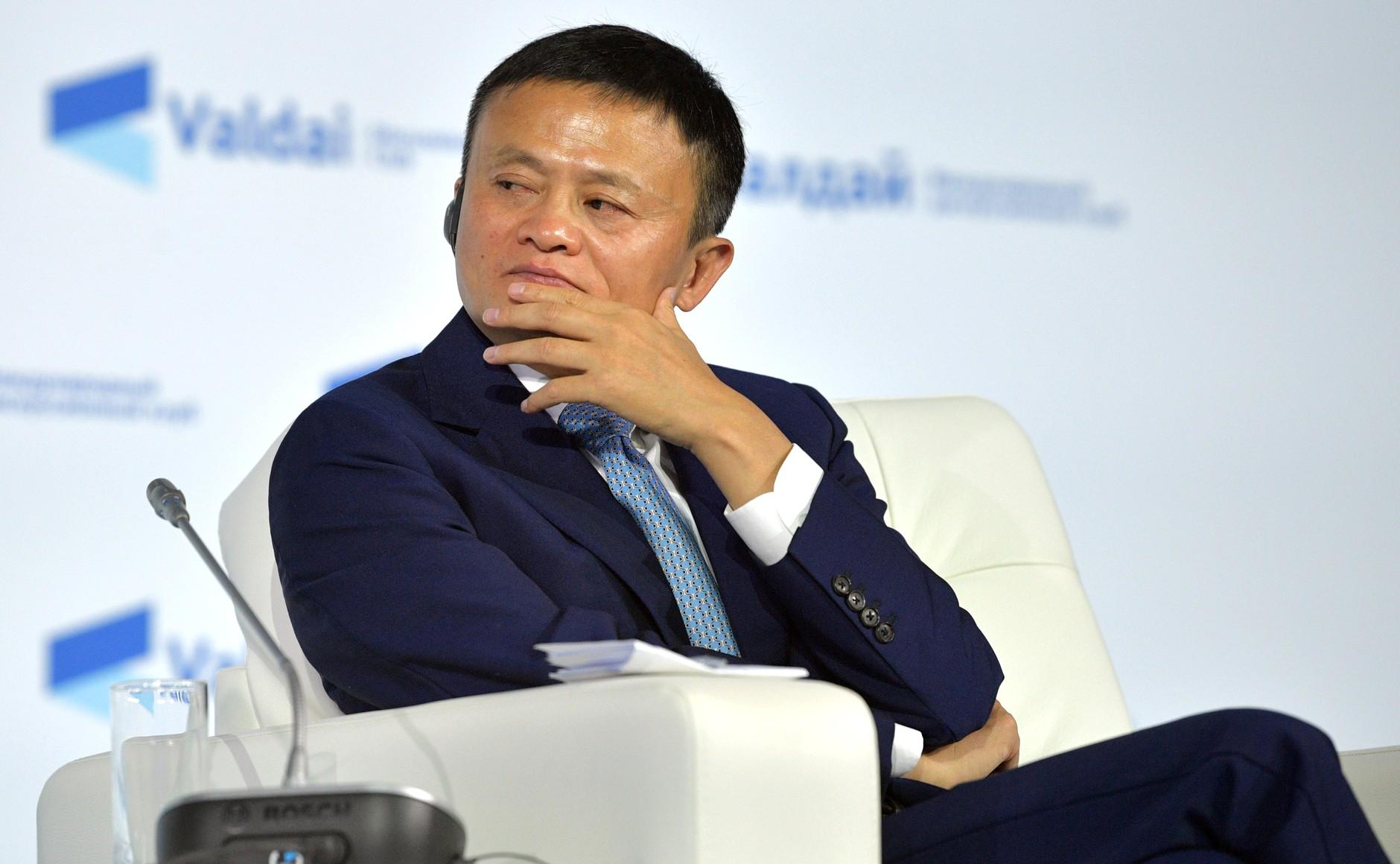 Jack Ma durante una visita a Rusia. Foto: Kremlin.ru