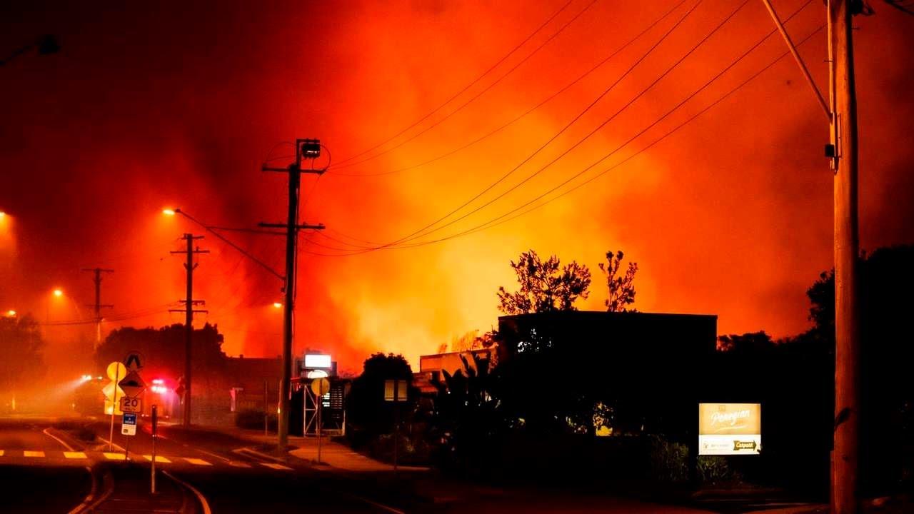 Evacuan a 400 personas por incendios en el este de Australia