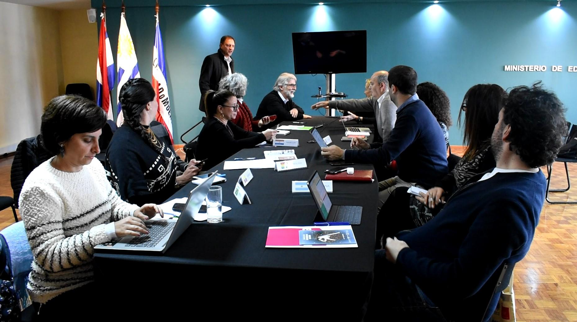 La reunión de expertos del MICSUR tuvo lugar el pasado 6 de setiembre en el MEC, en Ciudad Vieja. Foto: Carlos Loría / LARED21