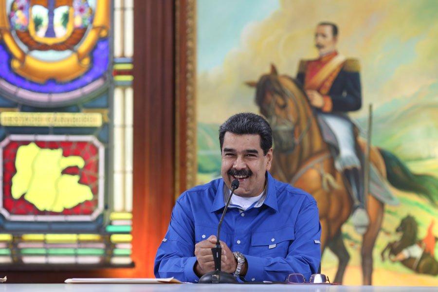 Foto: Twitter / Nicolás Maduro