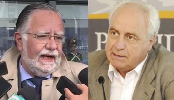 José Bayardi (Defensa) y Víctor Rossi (Transporte).
