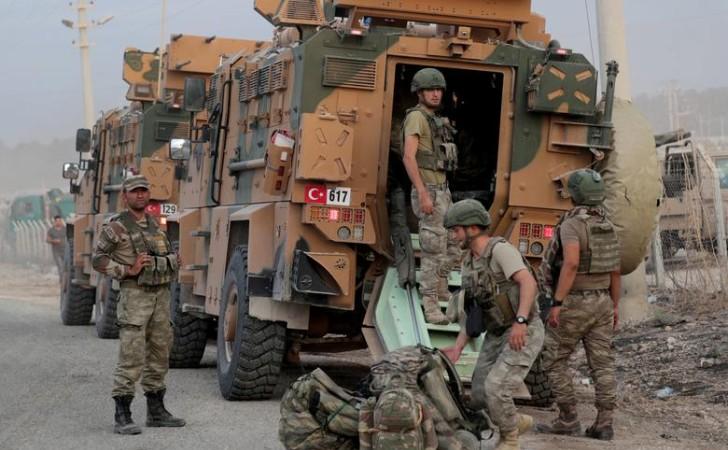 Ejército turco en el borde de la frontera con Siria / Foto: Reuters