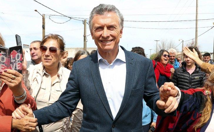 Mauricio Macri durante la inauguración de una obra / Foto: Casa Rosada