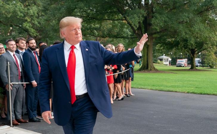 Presidente Trump regresa a la Casa Blanca / Foto: The White House