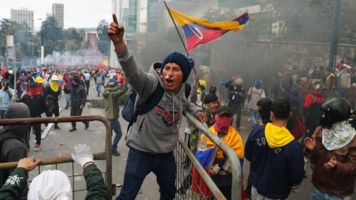 Continúan las protestas en Ecuador / Foto: Reuters