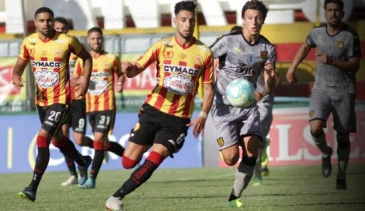 Progreso y Peñarol empataron sin goles en el Paladino. Foto: Peñarol/Twitter.