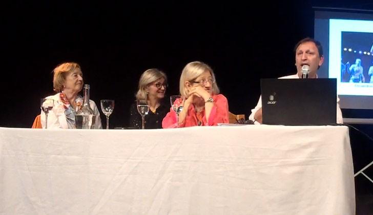 Ministra María Julia Muñoz; directora de Educación, Rosita Ángelo; directora Nacional de Centros MEC, Glenda Rondán y director de Cultura, Sergio Mautone. Foto: Carlos Loria/LARED21.